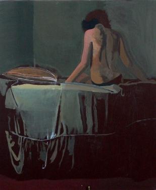 Etude en dos | huile sur toile | 65x54cm | 2005