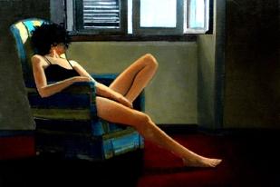 Pomeriggio | huile sur toile | 55x38cm | 2005