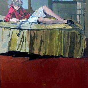 Quentin | étude | acrylique sur toile | 55x41cm | 2005