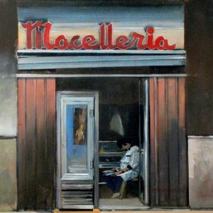 Macelleria | huile sur toile | 50x40cm | 2008