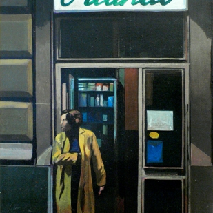 « Orlando » | Farmacia | acrylique sur toile | 40x30cm | 2009