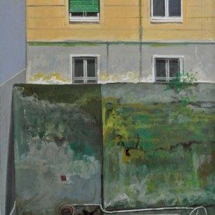 Jardin secret | 40x25cm | tempera sur toile | 2014