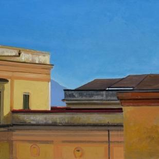 Belle Arti di Napoli | 29x49m | tempera sur panneau | 2015